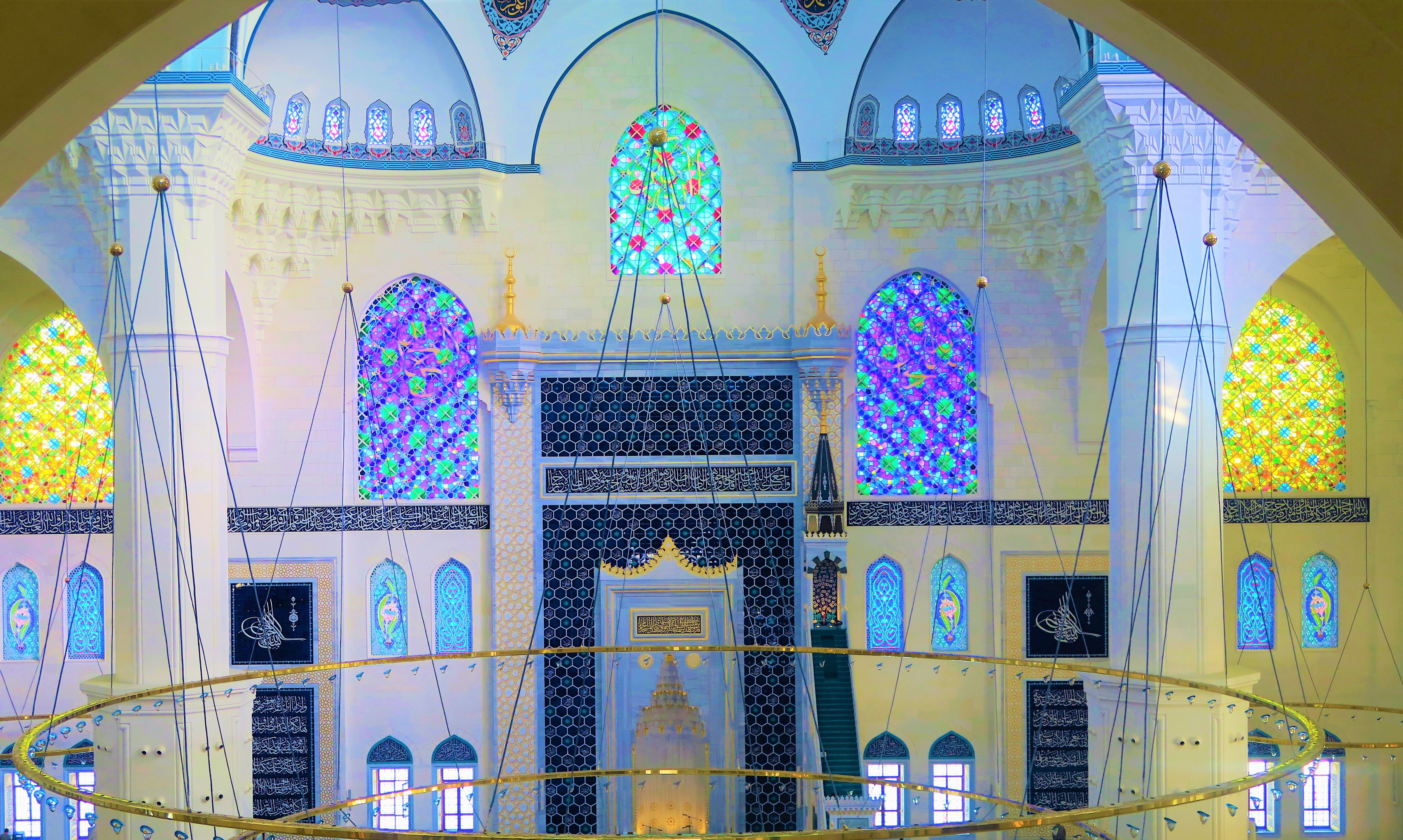 Camlica Mosque wallpaper
