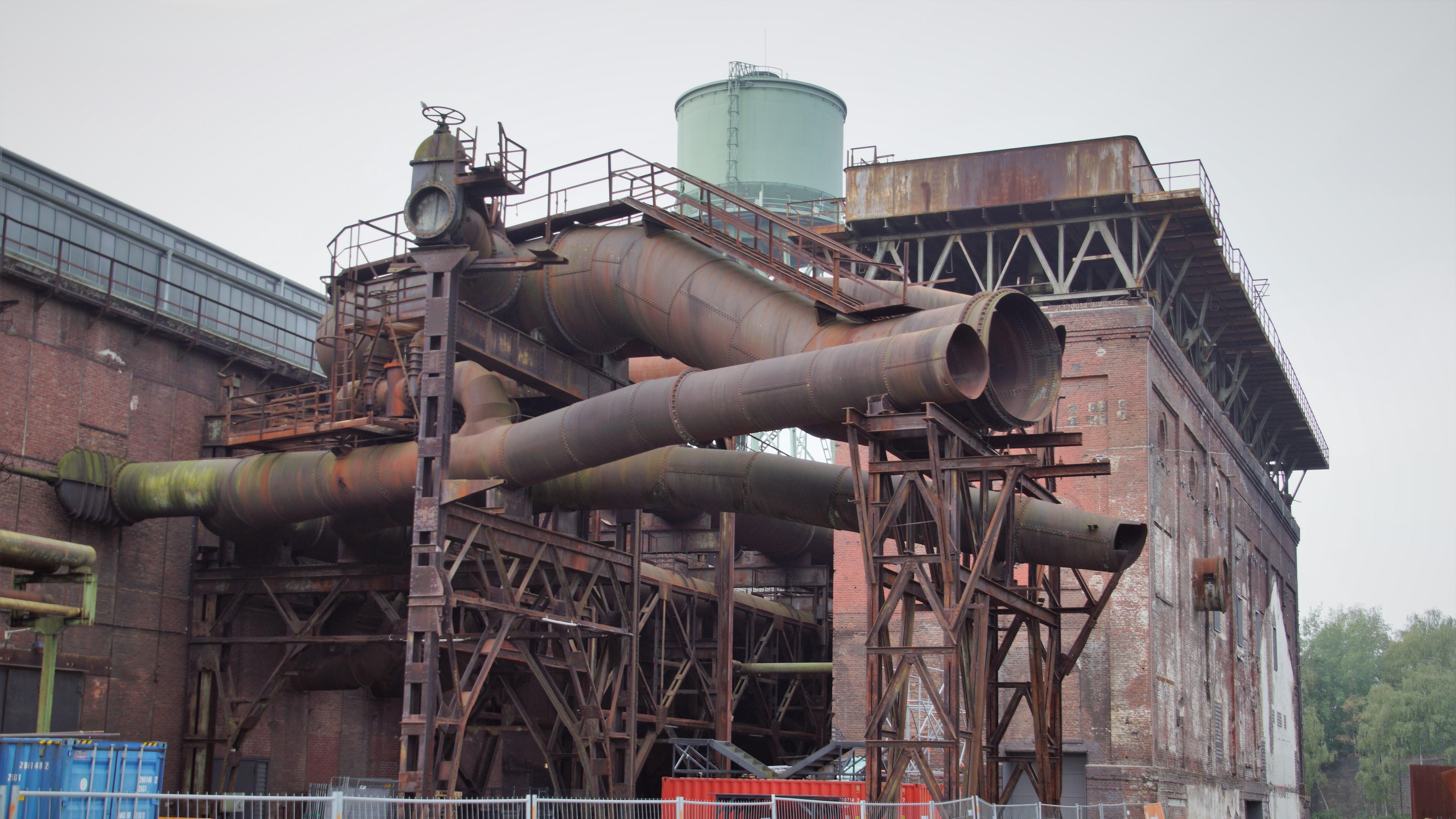 Centennial Hall Bochum Pipelines wallpaper