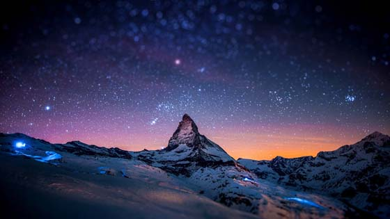 Matterhorn - The king of mountains, Zermatt, Switzerland wallpaper