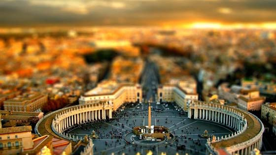 St. Peters Square, Vatican-City wallpaper