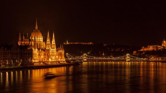 Parliament of Hungary wallpaper
