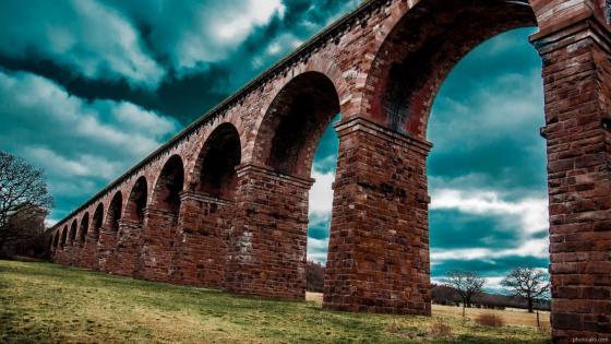 Aqueduct wallpaper