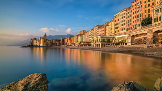 Camogli - fishing village on the Liguria coast wallpaper