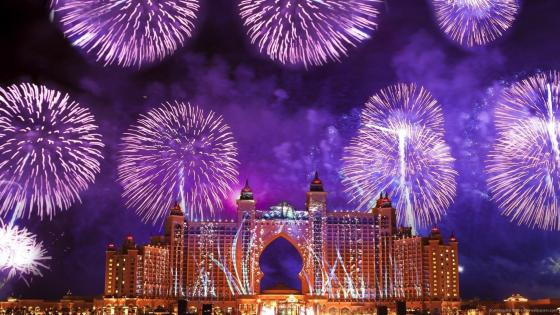 Dubai, New Year's Eve wallpaper