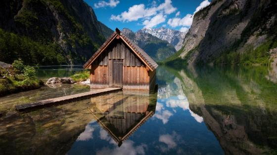 Obersee Lake (upper lake) wallpaper