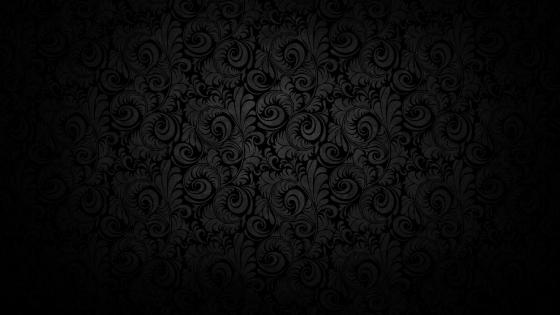 Black wallpaper pattern wallpaper