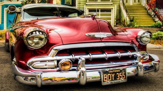 1950 Chevrolet Fleetline Deluxe wallpaper