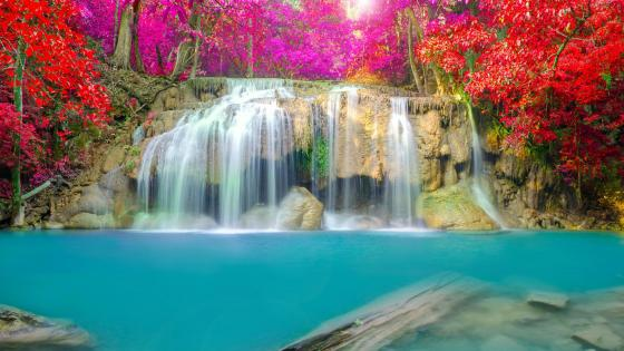 Erawan Falls wallpaper