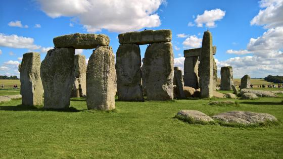 The ancient Stonehenge wallpaper