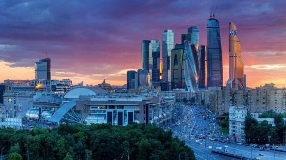 Moscow International Business Centre, Russia wallpaper