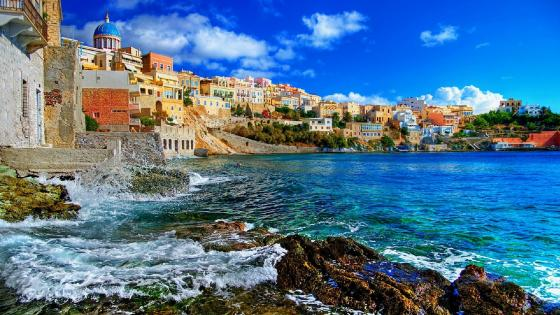 Syros, Greece wallpaper