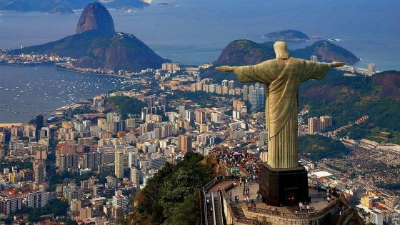 Christ the Redeemer (Rio de Janeiro, Brazil) wallpaper