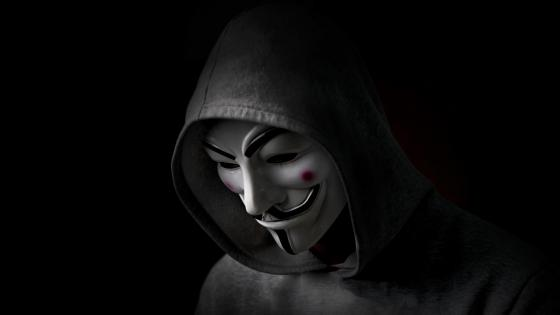 Hacker Mask (Anonymous) wallpaper
