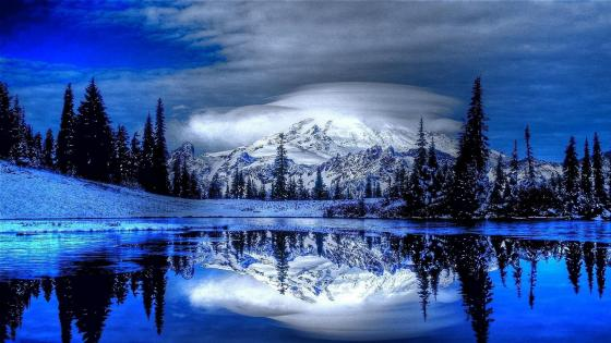 Tipsoo Lake (Mount Rainier National Park) wallpaper