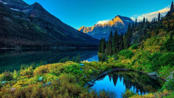 Thunder Lake - Rocky Mountain National Park, Colorado, USA wallpaper