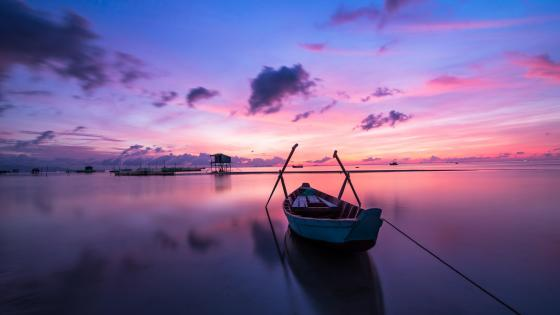 Sunset at Phu Quoc (Vietnam) wallpaper