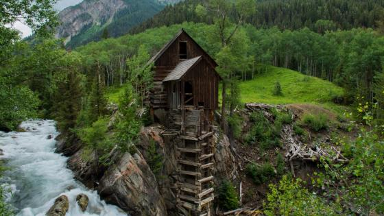 Crystal Mill (Colorado) wallpaper