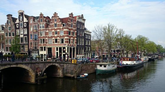 Keizersgracht - Amsterdam wallpaper