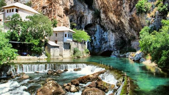 Blagaj Tekke Dervish House wallpaper