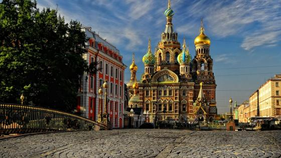 Church of the Savior on Blood (St. Petersburg, Russia) wallpaper