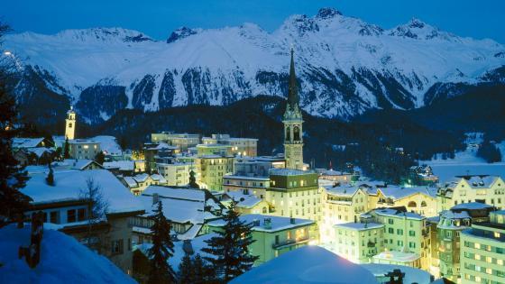 St. Moritz, Switzerland wallpaper