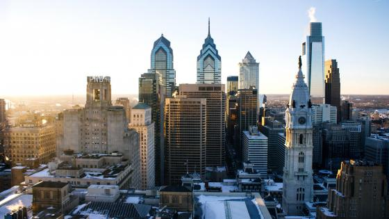 Philadelphia cityscape - Pennsylvania, United States wallpaper