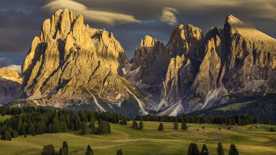 Seiser Alm (Dolomites) wallpaper