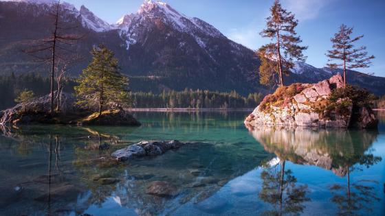 Hintersee, Ramsau bei Berchtesgaden, Germany