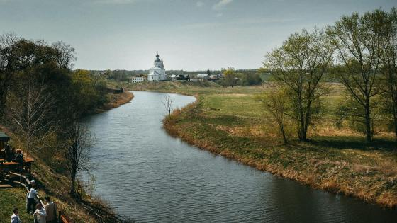 Kamenka River - Suzdal, Russia wallpaper