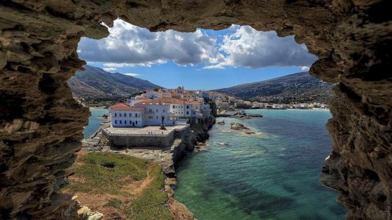 Andros Island, Greece wallpaper
