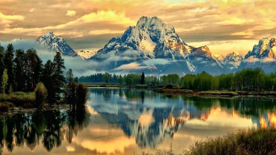 Mount Moran wallpaper