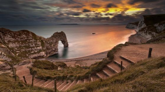 Durdle Door -  Lulworth Cove  wallpaper