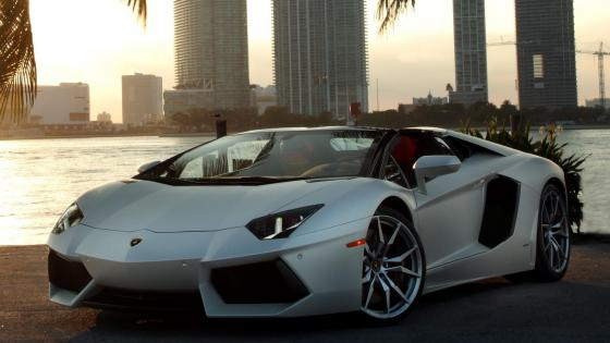 Lamborghini Aventador LP700-4 Roadster wallpaper