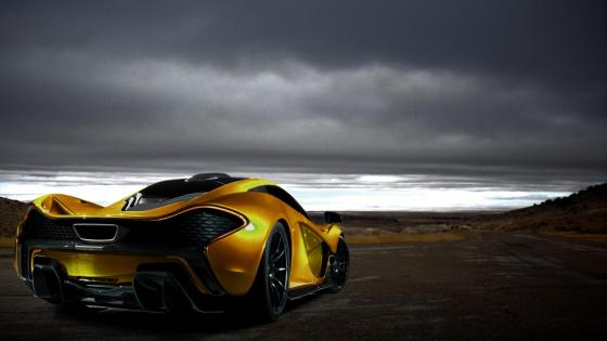McLaren P1 supercar wallpaper