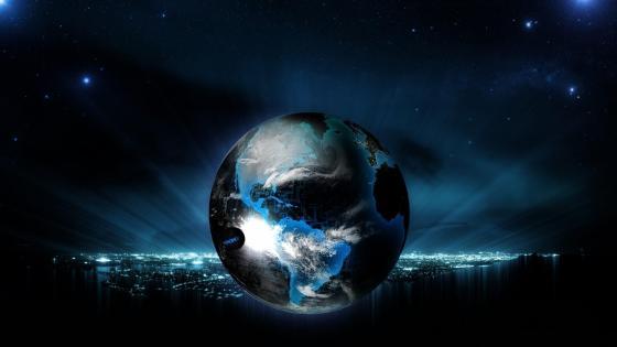 Cool fantasy Earth wallpaper