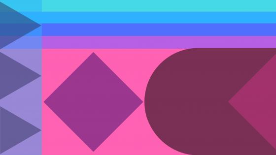 Colorful abstract material design wallpaper