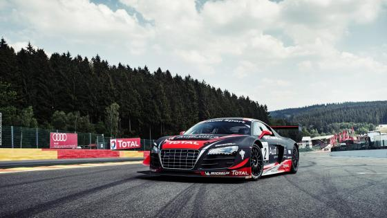Audi R8 LMS Ultra supercar wallpaper