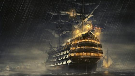 Pirates ship wallpaper