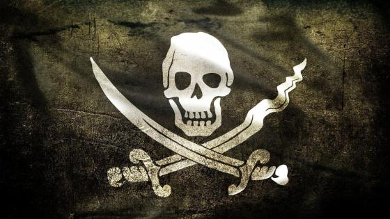 Pirate flag ‍☠️ wallpaper