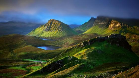 Isle of Skye, Scotland wallpaper