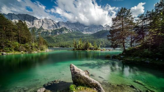 Eibsee lake ⛰️ wallpaper