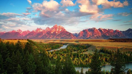 Snake River Overlook - Grand Teton National Park wallpaper
