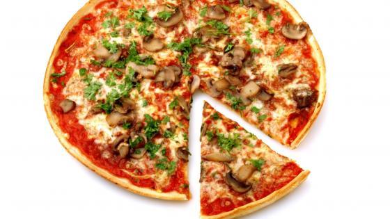 Pizza slice wallpaper