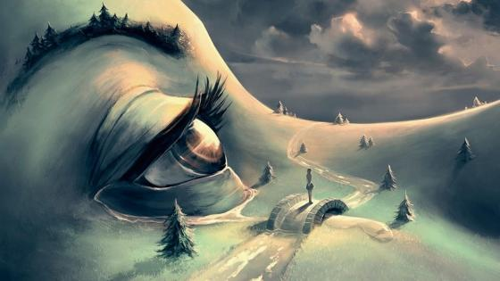 Fantasy land - Creative Surrealist Art wallpaper