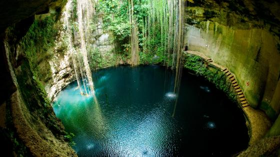 Ik Kil Cenote - Mexico wallpaper