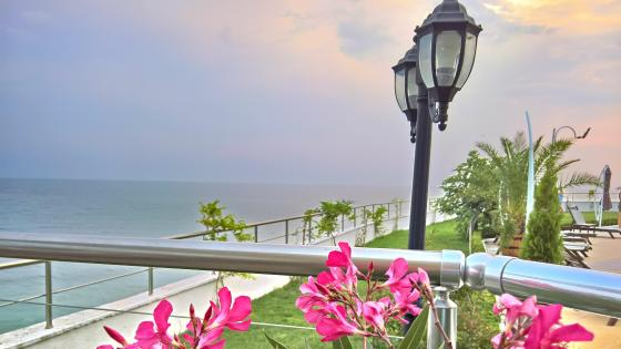Black Sea Resort wallpaper