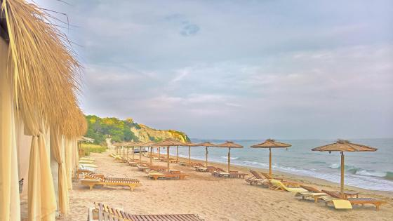 Beach in Bulgaria wallpaper