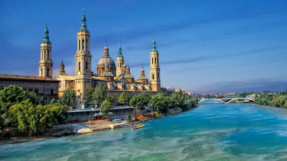 ⛪️ Cathedral-Basilica of Our Lady of the Pillar, Zaragoza, Spain wallpaper
