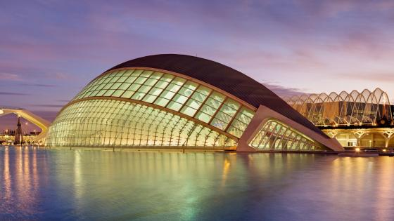 City of the Arts and the Sciences - Spain, Valencia wallpaper