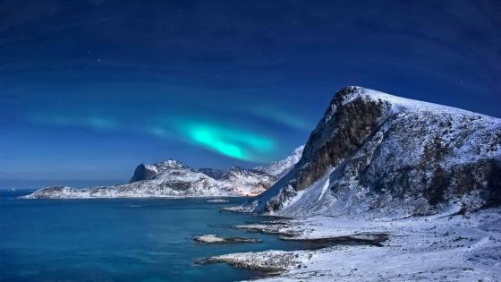 Northern Lights in Lofoten, Norway ✨ wallpaper